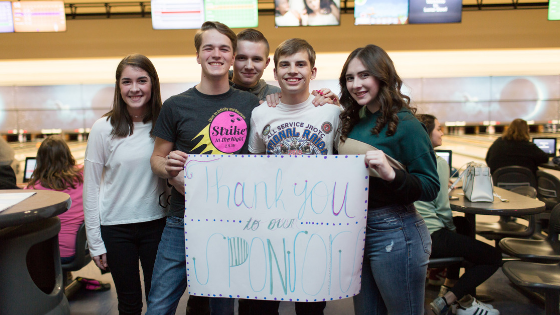 Students Strike it Big at Annual Fundraiser